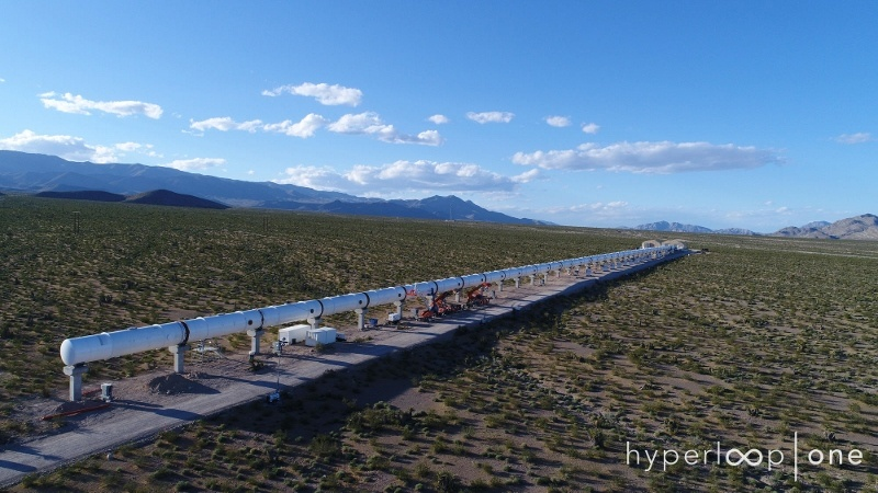 madrid nuevo norte hyperloop