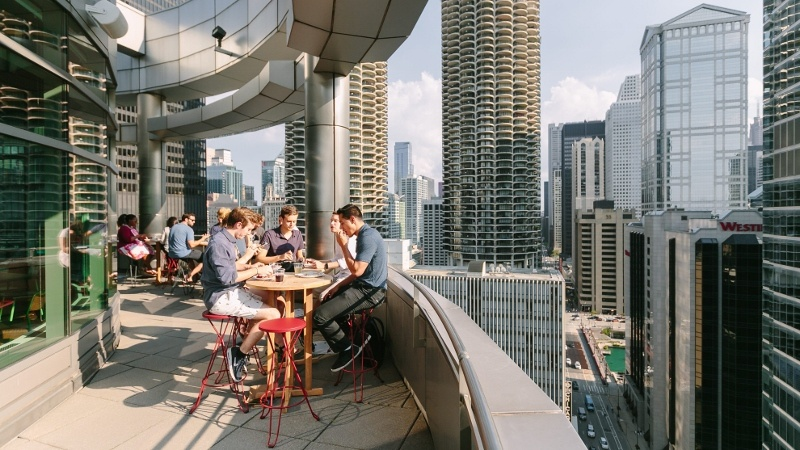 wework chicago office services